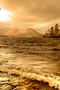 540x960 Lake Windermere Autumn Season 4k
