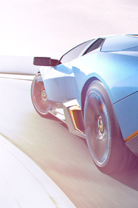 240x400 Lamborghini CGI Artwork