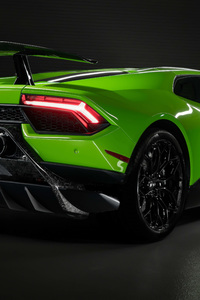 1440x2560 Lamborghini Huracan Performante 2019 Rear 8k