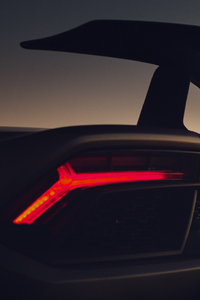1440x2560 Lamborghini Huracan Performante Rear Lights