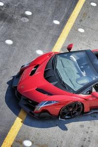 Lamborghini Veneno Roadster HD 720x1280