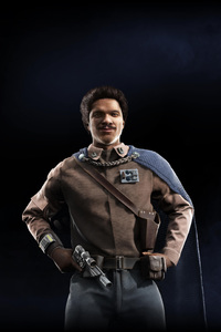 320x480 Lando Calrissian Star Wars Battlefront II 2017