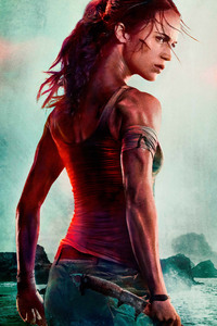 1280x2120 Lara Croft Tomb Raider 2018