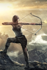 540x960 Lara Croft Tomb Raider 4k