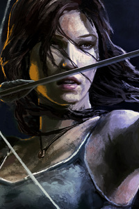 Lara Croft Tomb Raider Artwork 5k
