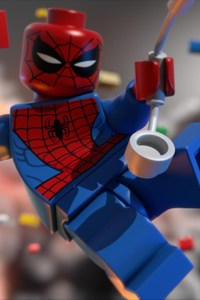 360x640 Lego Spiderman