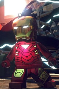 320x568 Lego Superheroes Iron Man