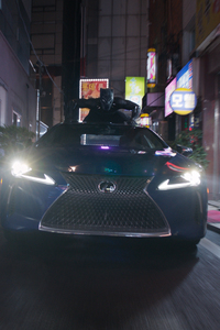 Lexus Black Panther Movie LC 500