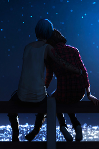 320x480 Life Is Strange Max Caulfield And Chloe Price 4k