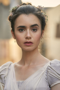 1440x2560 Lily Collins In Les Miserables 2018