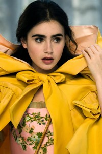 240x320 Lily Collins Still From Mirror Mirror Movie