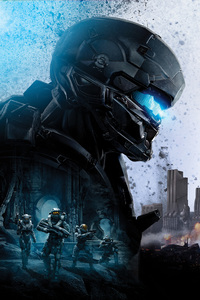 240x320 Locke Halo 5 Guardians 8k