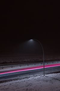 1080x2160 Long Exposure Light Highway