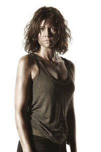 Maggie Lauren Cohan In Walking Dead