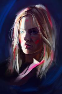 Margot Robbie Art