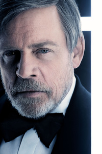 Mark Hamill As Luke Skywalker In British Vogue 2017