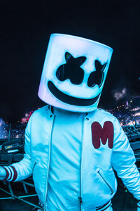 720x1280 Marshmello 2018 On Stage Live Dj 5k
