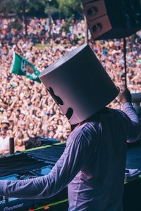1280x2120 Marshmello Performing At Music Festival 5k