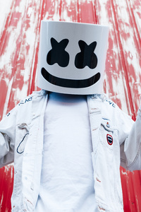 720x1280 Marshmello Press Photoshoot