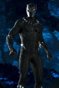 640x1136 Marvel Black Panther Movie 2018