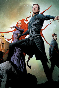480x800 Marvel Inhumans Artwork Poster