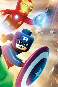 320x568 Marvel Lego Superheroes