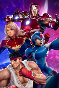 640x1136 Marvel Vs Capcom Infinite Story