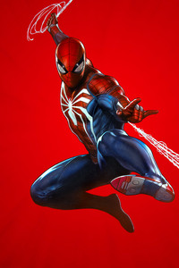 640x1136 Marvels Spider Man PS4 Theme Art 10k
