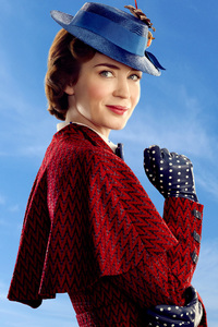 320x480 Mary Poppins Returns 2018 Movie