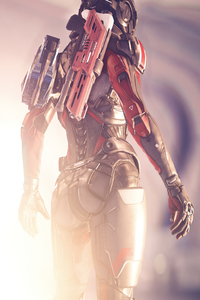 1125x2436 Mass Effect Andromeda 2019 4k