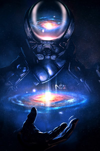 Mass Effect Andromeda Artwork