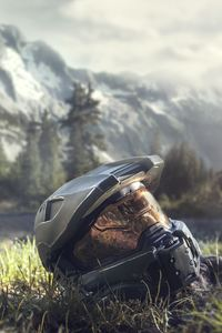 1080x1920 Master Chief Halo 4 Helmet