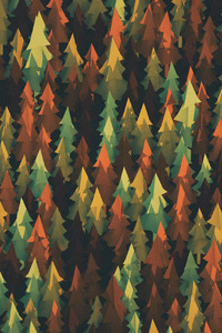 Material Design Forest