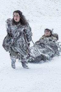 Meera Reed And Bran Stark Season 7