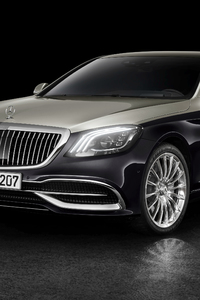 540x960 Mercedes Benz Maybach S 560 2018 Front