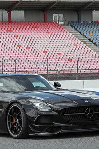 Mercedes Benz SLS 63 AMG Black Series 2017