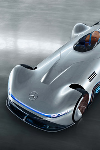 Mercedes Benz Vision EQ Silver Arrow 2018 4k