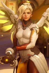 Mercy In Overwatch Game