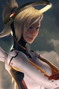 540x960 Mercy Overwatch Game Artworks