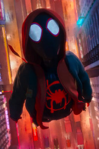 720x1280 Miles Morales In Spider Man Into The Spider Verse Movie 2018
