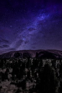 540x960 Milky Way Dark Night 4k