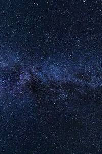 480x854 Milky Way Starry Sky Night 5k