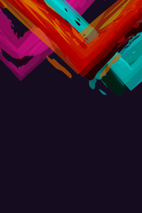 480x854 Minimalistic Abstract Colors Simple Background 5k