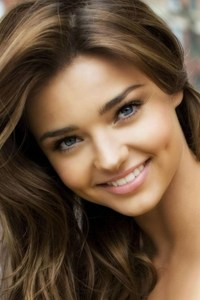 Miranda Kerr Cute Dimple