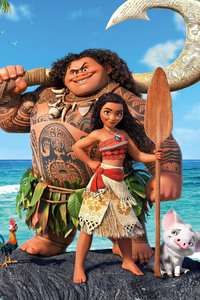 Moana 2016 Disney Movie 4k