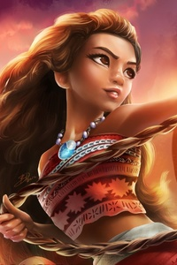 240x320 Moana Artwork