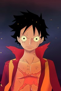 1280x2120 Monkey D Luffy One Piece 4k