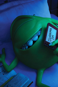 800x1280 Monsters University Mike Wazowski 4k