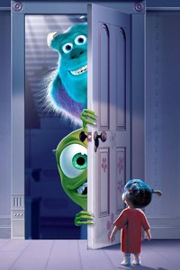 1080x2280 Monsters University Movie