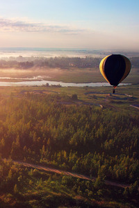 Morning Flight Hot Air Balloon